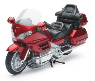 1:12 Honda GOLD WING 2010, 2ASSORTED COLORS