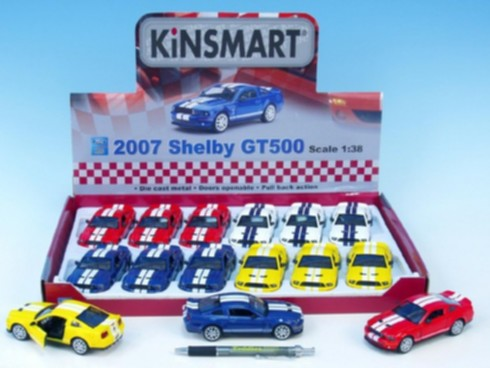 Auto Kinsmart Shelby Mustang GT500 12cm