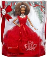Barbie HOLIDAY DOLL AFRO ÚČES