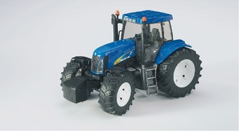 Bruder 3020 Traktor NEW HOLLAND T8040