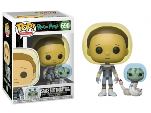 Funko POP Animation: Rick & Morty S2 - Space Suit Morty w/Snake