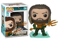Funko POP Heroes: Aquaman - Arthur Curry in Hero Suit