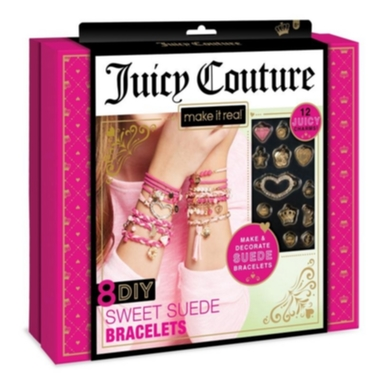 Juicy Couture Sweet Suede Bracletes