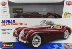 KIT Jaguar XK 120 1:24