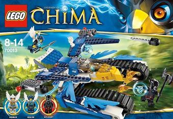 LEGO CHIMA 70013 - Equilas Ultra Striker POMPO EXLUSIVE