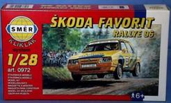 Model Škoda Favorit Rallye 96 1:28