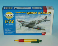 Model Supermarine Spitfire MK.VI  1:72