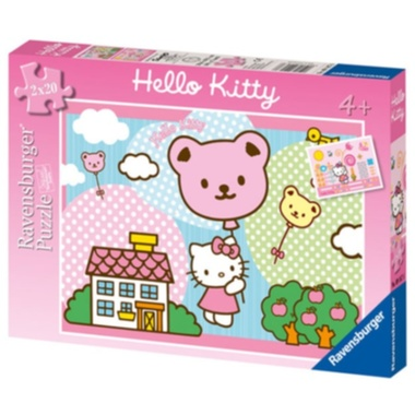 RAVENSBURGER-Hello Kitty 2 x 20d - puzzle