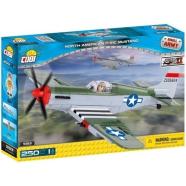 Small Army Mustang P-51C, 250 k, 1 f