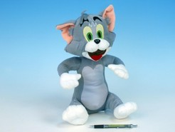 Tom plyš sedící 32cm Tom a Jerry