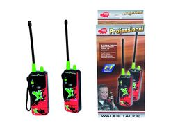 Walkie Talkie X-Treme, 16 cm, dosah 200m